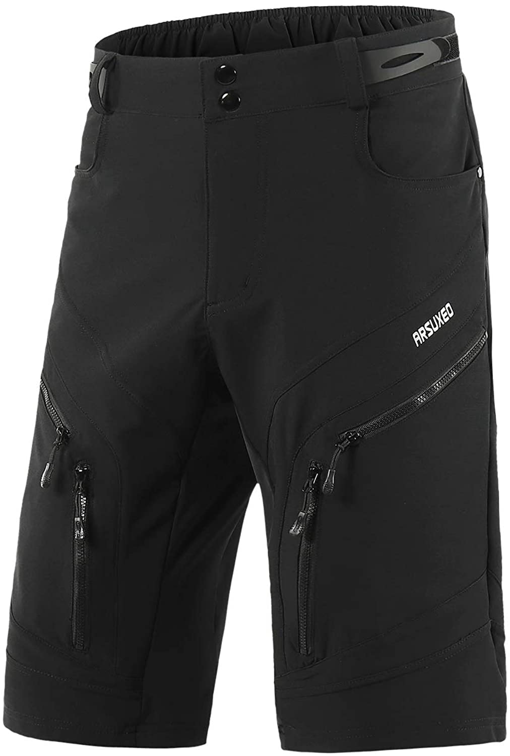 Men's Loose Fit Cycling Shorts MTB Bike Shorts