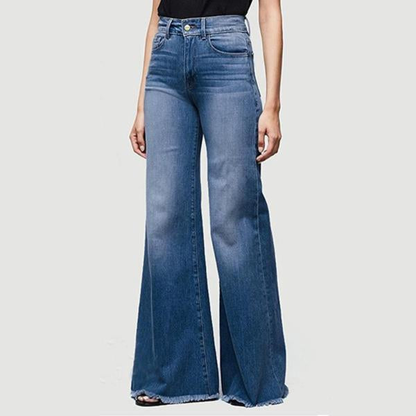 70s Plus Size Bell Bottom Jeans(buy 2 get free shipping)