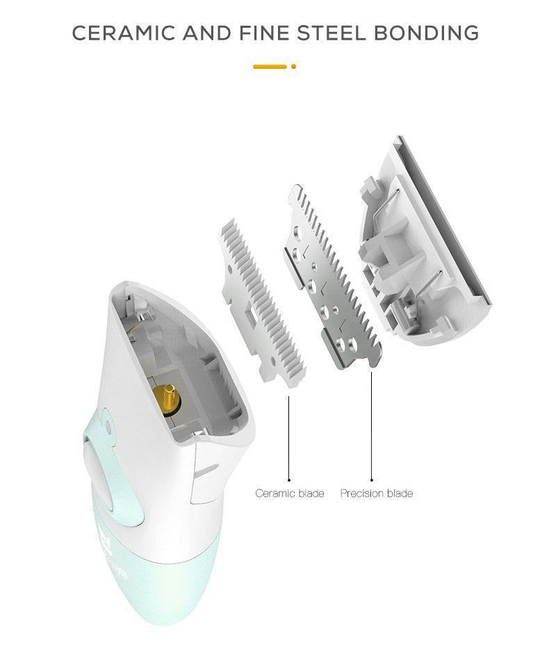 HOT SALE - 50% OFF!!! Waterproof Low Noise Rechargeable Quiet Hair Clippers Set for Dogs Cats Pets