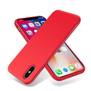 Liquid Silicone Gel Rubber Full Body Protection Shockproof Phone Case