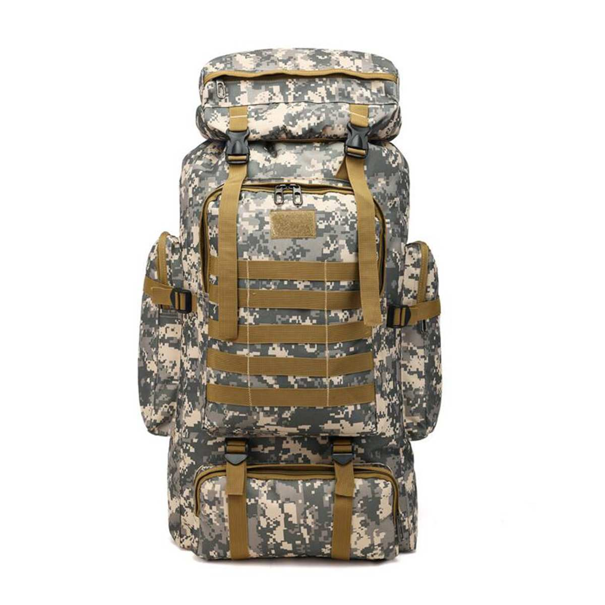 80L Outdoor Military Rucksacks Oxford Fabric Waterproof Tactical backpack Sports Camping Hiking Trekking Fishing Hunting Bags
