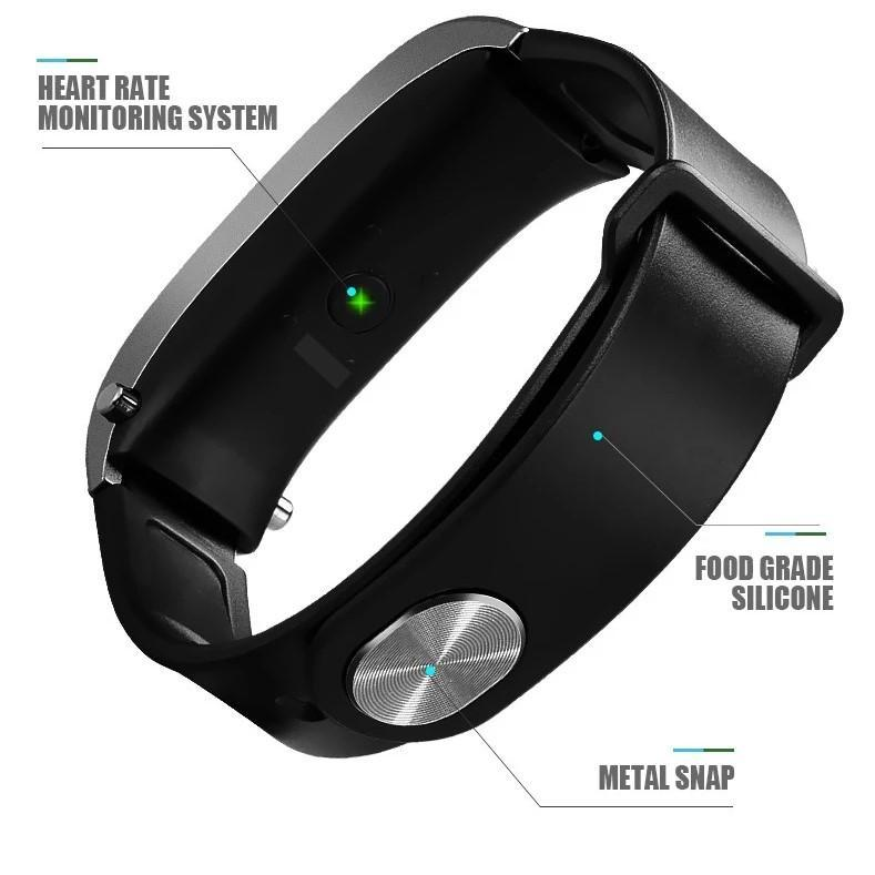 2-in-1 Smart Bracelet with Bluetooth Earphone (FREE SHIPPING TODAY)