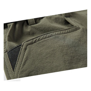 Mens Scratch-proof Military Outdoor Cargo Shorts