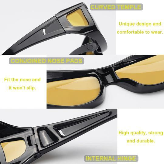 Clear Vision Driving Glasses