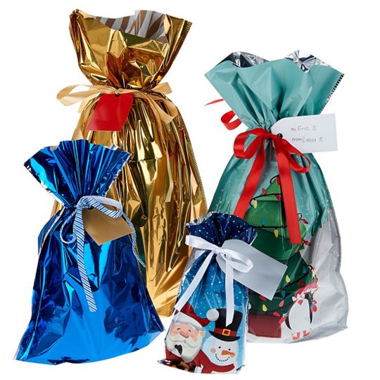 Drawstring Christmas Gift Bags💖【Recommend Buy 100pcs】