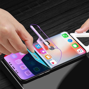 New Generation Anti-blue Light Flexible Condensing Mobile Phone Screen Protector