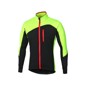 Arsuxeo Men/'s Winter Cycling Jacket MTB Bike Thermal Fleece Jersey Sports Coat
