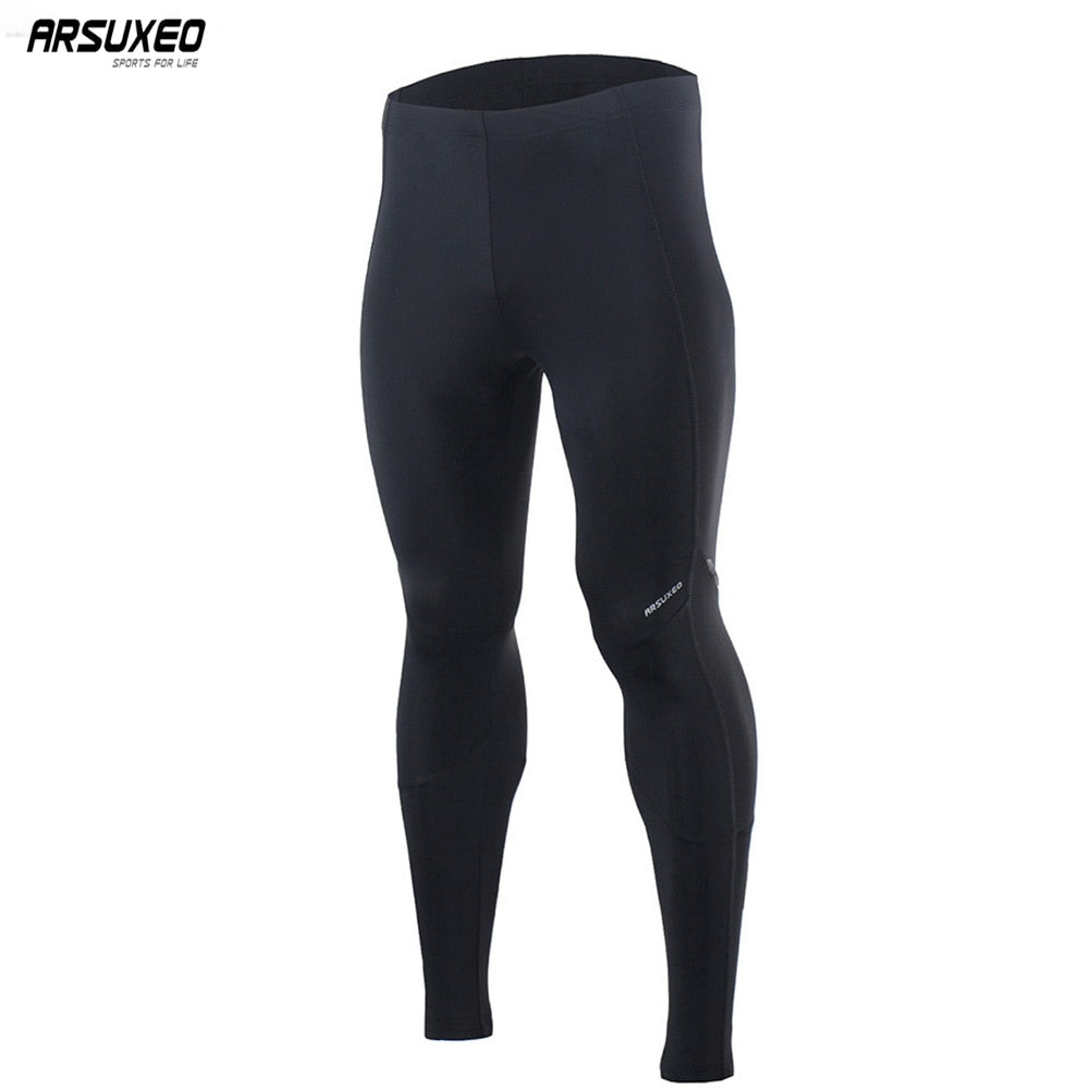 Bluesea Men's 3D Padded Cycling Pants Compression Tights Bicycle MTB Mountain Bike Pants Downhill Breathable Reflective  16C91