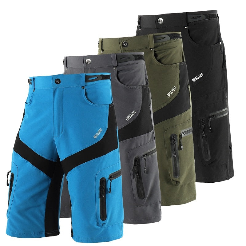 Men's Outdoor Sports Cycling Shorts Downhill MTB Mountain Bike Bicycle Shorts