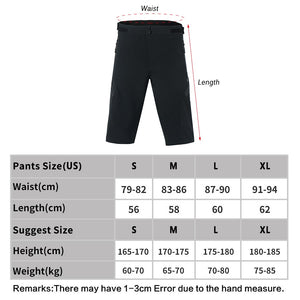 Bluesea Sports Shorts Outdoor Sports Cycling Shorts Men's Running Shorts Quick Dry Marathon Training Fitness Running Trunks