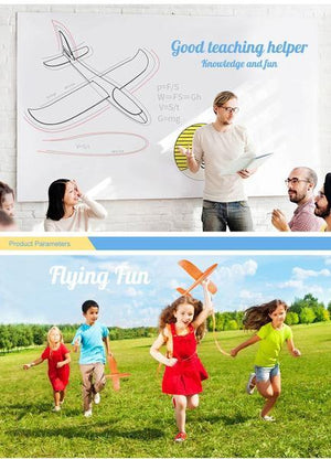 NEW YEAR MEGA SALE!! DIY Hand-Throw Foam Aeroplane Model **70% Off Today ONLY!**