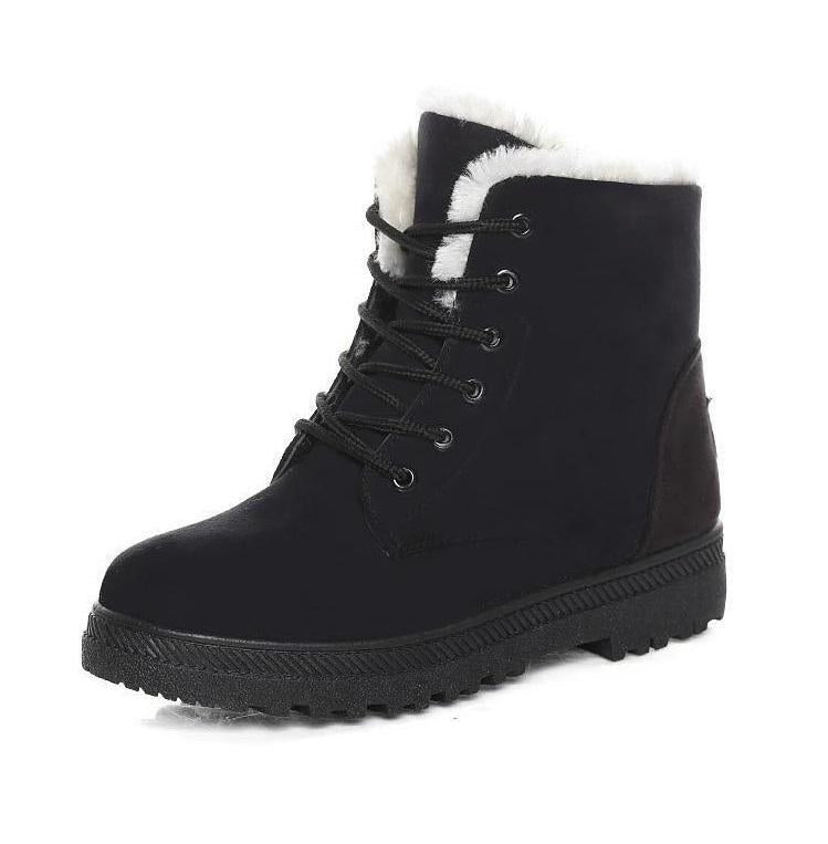 Ankle High Women's Boots Ladies Winter