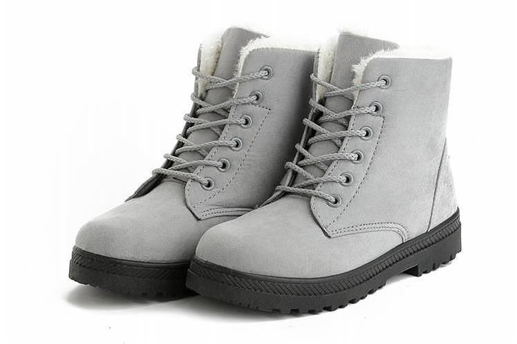 Ankle High Women's Boots Ladies Winter Boots