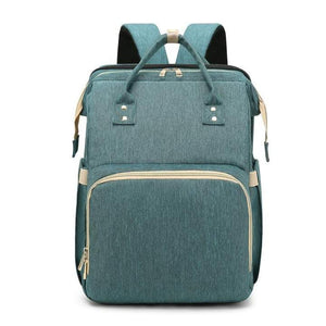 Comfortable Diaper Backpack With Changing Bed