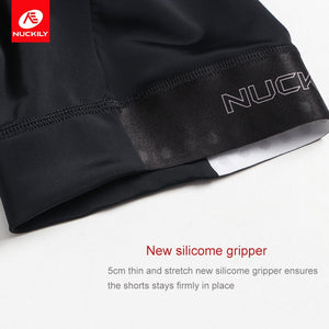 NUCKILY Lycra Cycling Shorts Women Bicycle Bib  Elastic Outdoor Riding Clothing For competition GK003/GS001