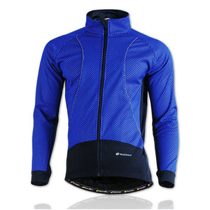 NUCKILY Winter Bike Clothing Rainproof Fleece Coat Thermal Bicycle Windproof Ropa Ciclismo Jacket Bicycle Cycling Jacket Men