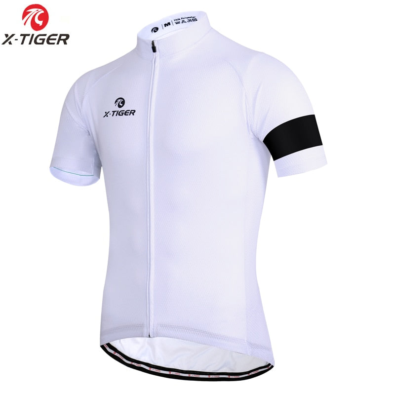 Cycling Jersey Man Mountain Bike Clothing Quick-Dry Racing MTB Bicycle Clothes Uniform Breathale Cycling Clothing Wear