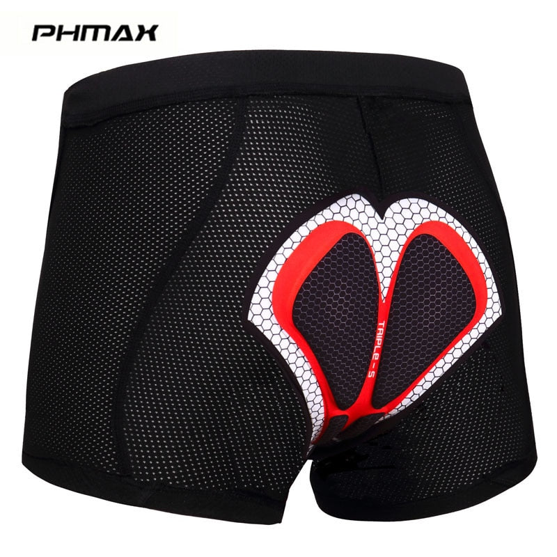 Upgrade Cycling Shorts Cycling Underwear Pro 5D Gel Pad Shockproof Cycling Underpant Bicycle Shorts Bike Underwear