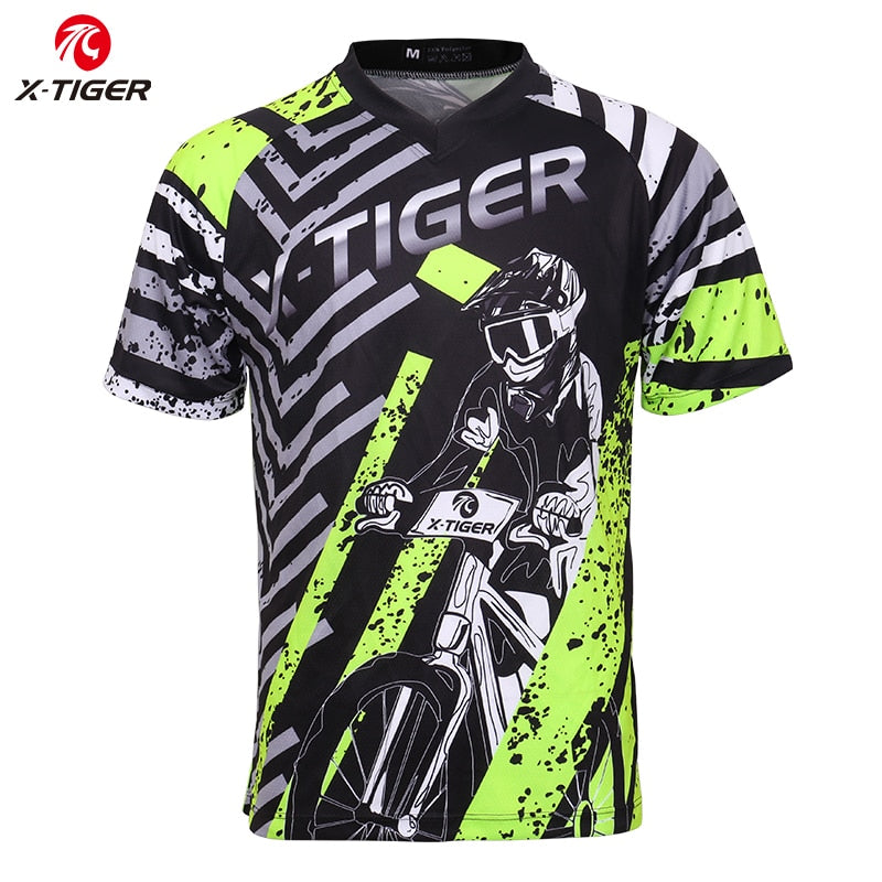 Downhill Jerseys 100% Polyester Cycling Jerseys Downhill Clothes Mountain Bike Shirt Motocross Sports Racing Wear