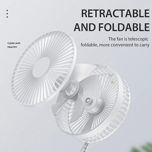 Multi-function Wireless Rechargeable Fan