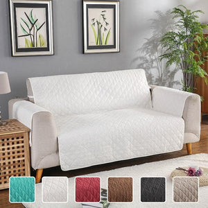 Waterproof Pets Sofa Cover - Reversible And Washable Couch Protector