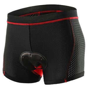 Men's Cycling Under Shorts Elastane Bike Underwear Shorts Padded Shorts