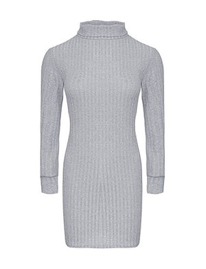 Women's Daily Basic Mini Sweater Dress