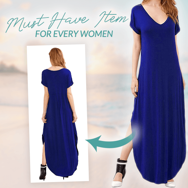 Summer Vacation Maxi Dress
