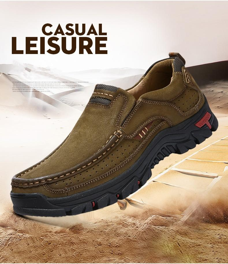 Stylish Men Comfortable Shoes -Non-Slip Hiking Shoes (Buy More For Extra Discount!!)