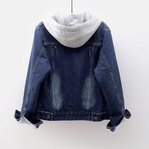 Denim Fleece Jacket