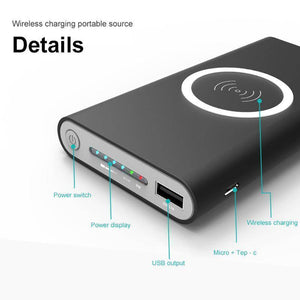 2019 WIRELESS POWER BANK 10000 mAh