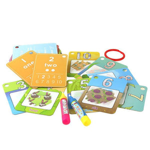 Water Based Numbers, Shapes, & Colors Drawing Set