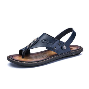 Cool Beach Leather Sandal