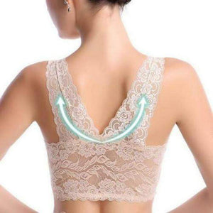Extra Elastic Air Permeable Lace Bra