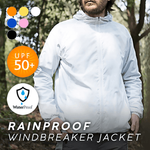 Ultra-Light Rainproof Windbreaker Jacket-HOT