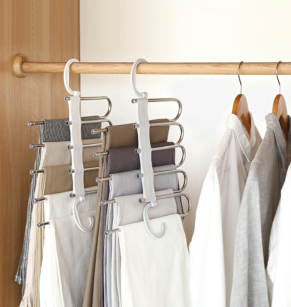 (80% OFF!!!) Multi-Functional Pants Rack