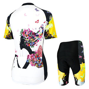 Arsuxeo Women's Short Sleeve Cycling Jersey