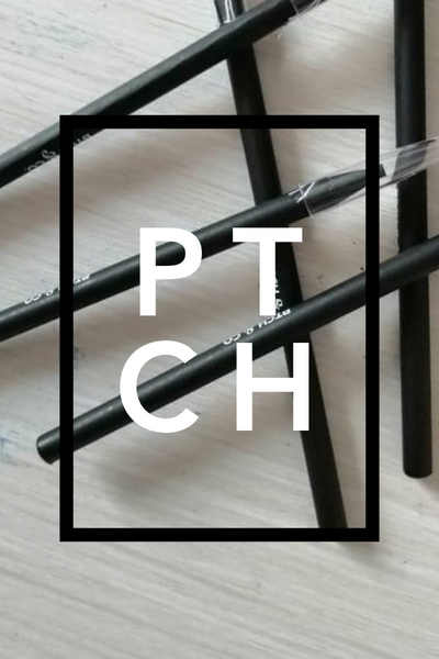 PTCH BLACK Waterproof Pencil 3 Pack