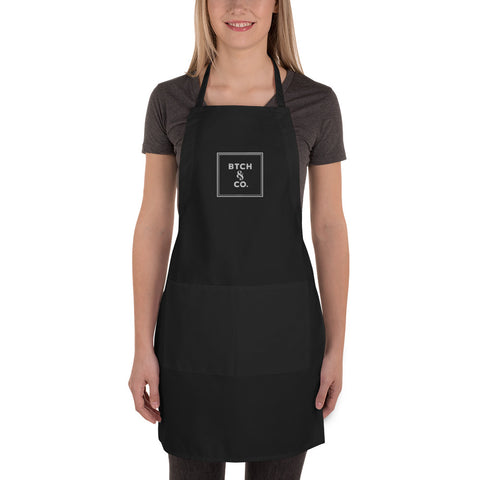 BTCH & CO. Embroidered Apron