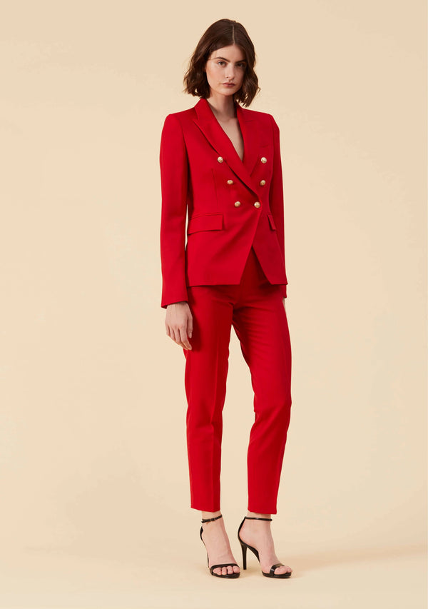 Colette Red Blazer | Best Blazer Jacket Coat Outwear For Women | Thisisher.Style