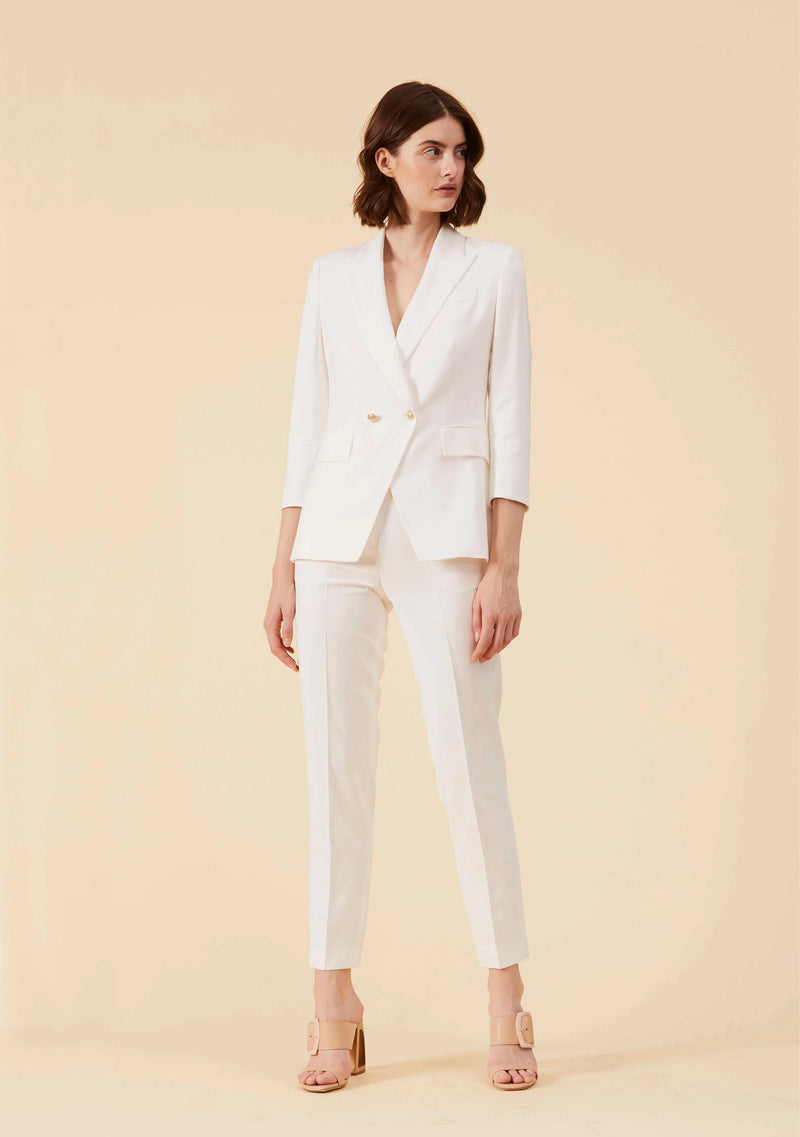 Marguerite White Blazer | Best Blazer Jacket Coat Outwear For Women | Thisisher.Style