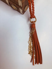 Hippie Tassel Necklace