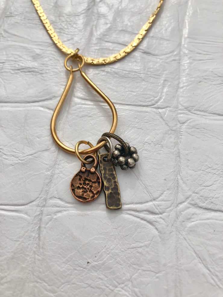 Worldly Treasures Charm Necklace