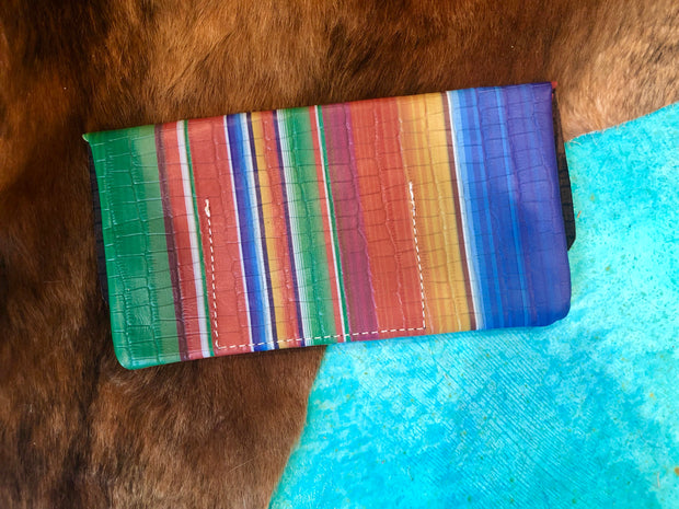 Serape Love Clutch