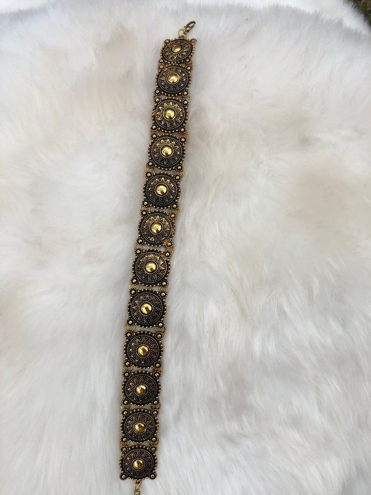 Gold Tokens Choker