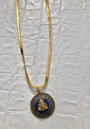 Tibetan Ganesh Necklace