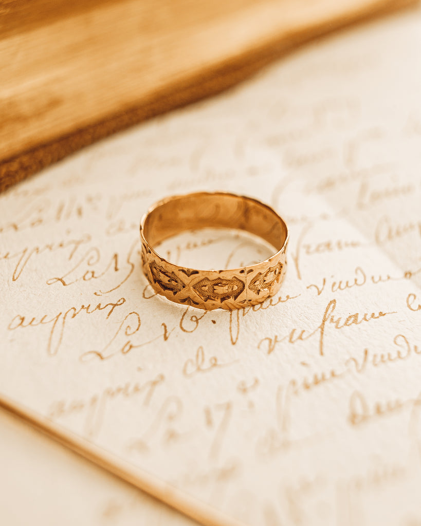 Victorian Wedding Cigar Band