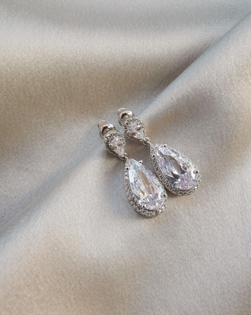 Victoria Rhinestone Earrings