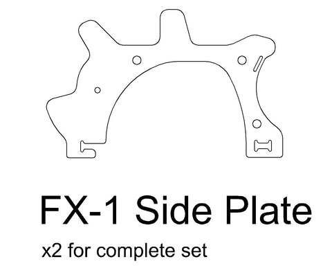 FX-1 Side Plate
