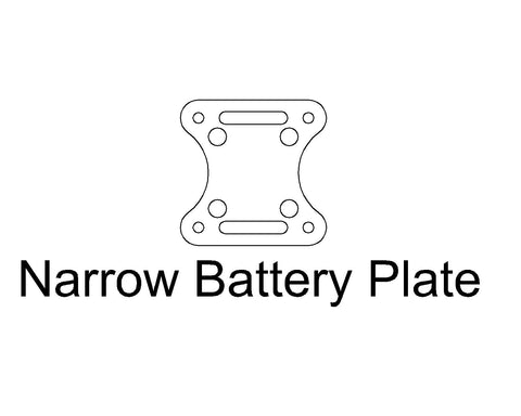 Battery Plate: Narrow